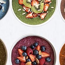 #夏日消暑,非它莫属# 6款奇亚籽布丁!做出彩虹营养早餐!