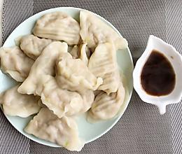 圆白菜肉馅水饺的做法