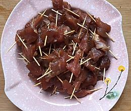 香酥牙签肉的做法