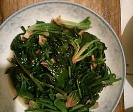 家常菜炒菠菜的做法