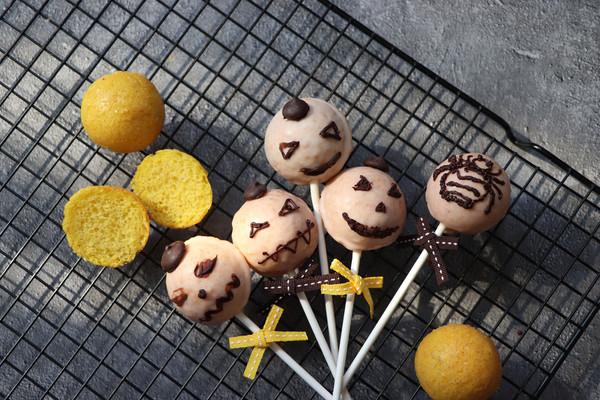 蛋糕棒棒糖,不给糖果就捣乱,助力小朋友们的狂欢的做法