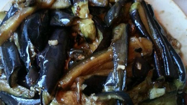 凉拌紫茄子的做法