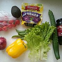 牛油果沙拉(附牛油果酱做法)的做法图解1