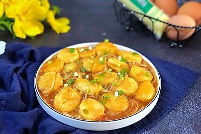 番茄金针菇日本豆腐