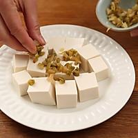 肉末蒸豆腐的做法图解5
