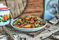 鸡腿烧鱿鱼#太阳谷菜谱#的做法