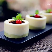 盆栽酸奶慕斯蛋糕#有颜值的实力派#