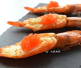 芝士焗虾的做法