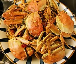 用河蟹做的香辣蟹,味道竟然超级棒的做法