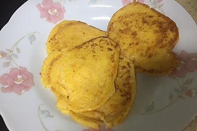 宝宝补锌主食之鲜贝山药鸡蛋饼