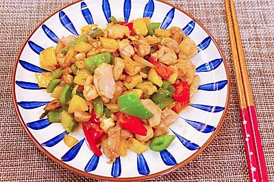 粵菜三色彩椒炒雞丁 媲美五星級酒店的廣東名菜