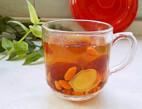 红枣姜片枸杞汤的做法