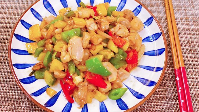 粵菜三色彩椒炒雞丁|媲美五星級酒店的廣東名菜