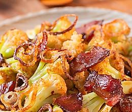 【干煸花菜】这样炒菜配米饭,干香入味一级鲜!的做法