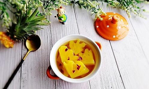 #初春润燥正当时#菠萝糖水的做法