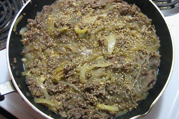 韩式炒牛肉的做法
