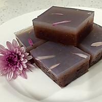 红豆菊花羊羹甜糕— 简单三步 多种摆盘