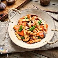 香菇烧腐竹——下饭菜带来的幸福感!的做法图解18