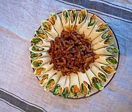 #新春美味菜肴#~花开富贵京酱肉丝~的做法