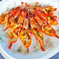 沙拉芥末酱焗大虾#丘比沙拉汁#的做法图解9