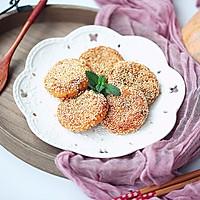 豆沙馅南瓜饼#馅儿料美食,哪种最好吃#的做法图解15