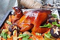 杂蔬烤鸡#令人羡慕的圣诞大餐#的做法