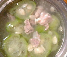 瘦肉丝瓜汤的做法