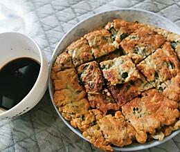 马齿菜煎饼的做法