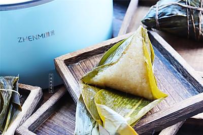 虽然已过端午节,吃点肉粽子解馋吧!