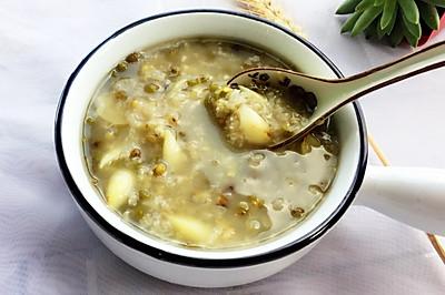 绿豆百合粥