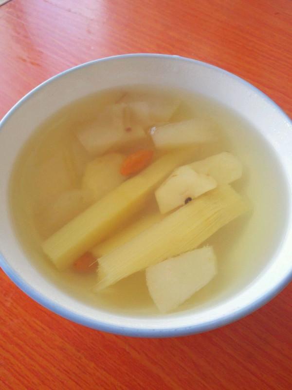 秋冬热饮~甘蔗马蹄梨水~的做法