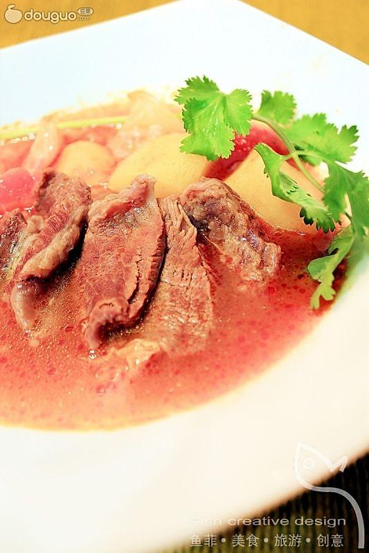 """""""花果""""入赘 牛肉汤的做法"""
