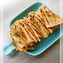 #舌尖上的端午#  葱油饼