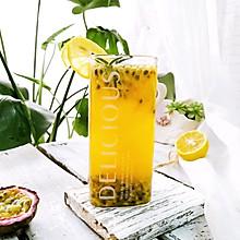 百香果柠檬蜂蜜茶