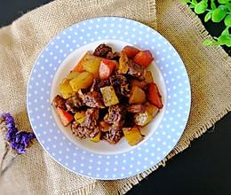 快手牛腩炖土豆#做道好菜,自我宠爱!#的做法