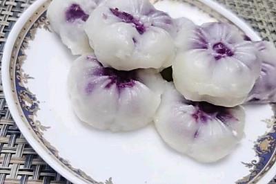 忘忧糕/山药紫薯糕