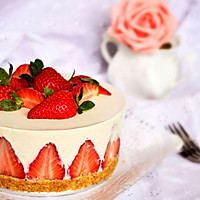 【草莓慕斯蛋糕】——草莓季系列美食的做法图解22