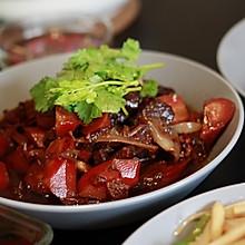 红酒洋葱胡萝卜炖牛肉