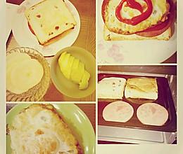 烤箱版三明治的做法