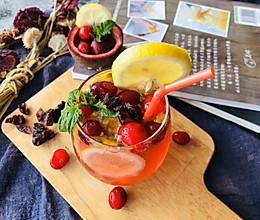 #轻饮蔓生活#蔓越莓柠香冰饮的做法