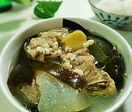 #夏日消暑,非它莫属#冬瓜薏米海带猪骨汤的做法