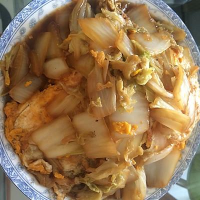 荷包蛋大白菜