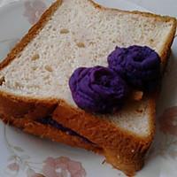 """""""下午茶""""紫薯泥夹面包"""