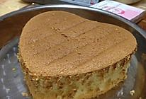 原味戚风蛋糕(18L烤箱,6寸心形or4个中号纸杯蛋糕)的做法
