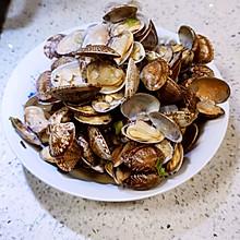 辣炒蛤蜊-青岛美食