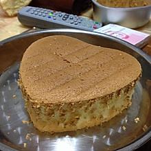 原味戚风蛋糕(18L烤箱,6寸心形or4个中号纸杯蛋糕)