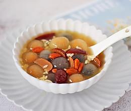 红枣枸杞酒酿汤圆的做法
