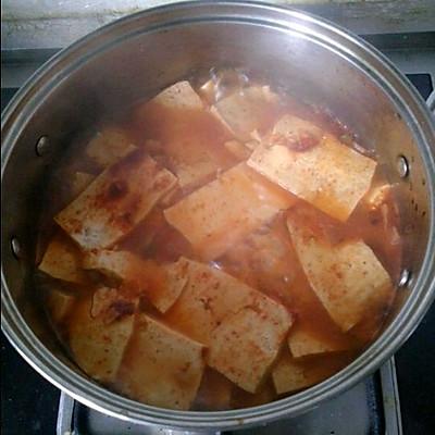 韩国泡菜豆腐锅
