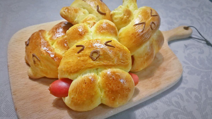 【面包机版】兔兔热狗面包