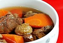 无花果红萝卜牛肉汤的做法